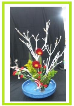 第2回生け花教室の作品